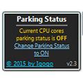 Parking Status(CPU核心存储控制小工具) V2.3 绿色免费版