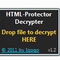 HTML-Protector Decrypter(HTML网页加密破解工具) V1.2 绿色免费版