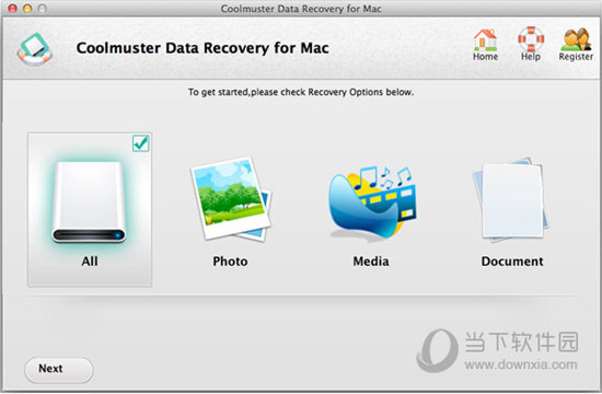 Coolmuster Data Recovery for Mac