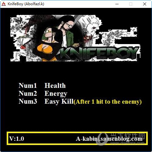 KnifeBoy游戏修改器
