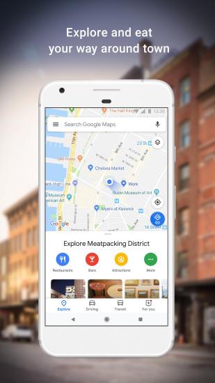 谷歌地图APP中文版 V10.25.2 安卓版截图3