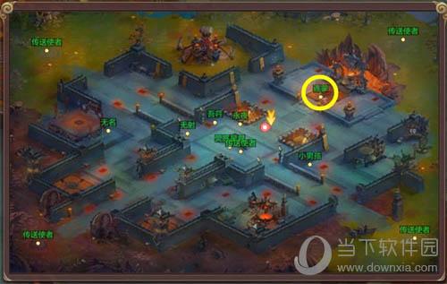 《自由幻想》手游放逐之地NPC连蒙地图位置截图