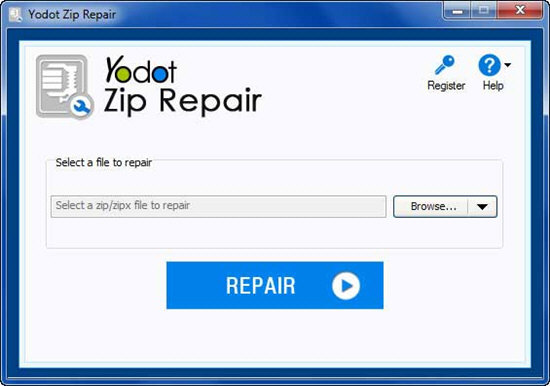 Yodot Zip Repair
