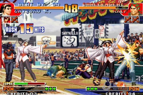 拳皇97风云再起无限气中文版游戏下载
