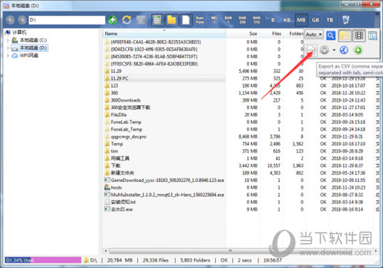 Folder Size Explorer