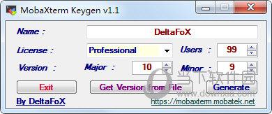 Mobaxterm注册机