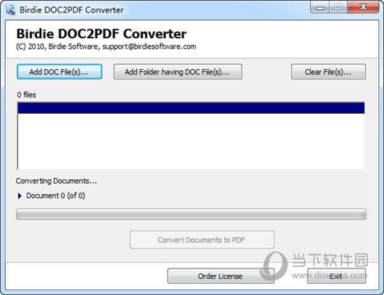 Birdie DOC to PDF Converter