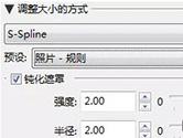 PhotoZoom中S-Spline放大算法技术说明 高级微调必备