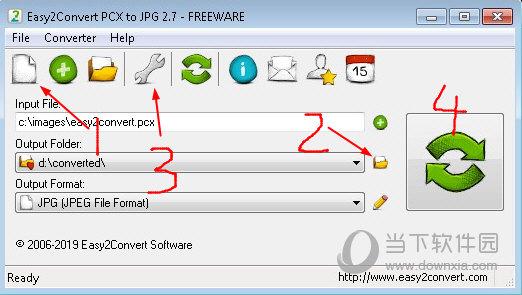 Easy2Convert PCX to JPG