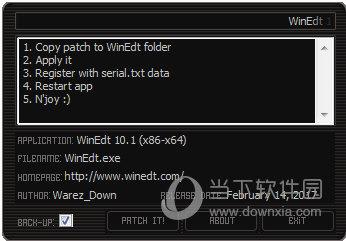 WinEdt10.3破解版
