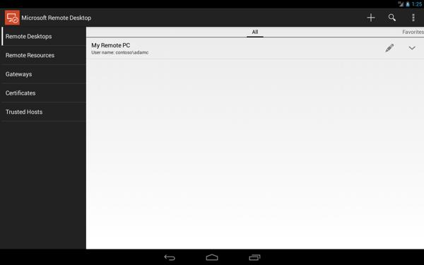 Microsoft Remote Desktop汉化版 V8.1.75.406 app安卓版截图1