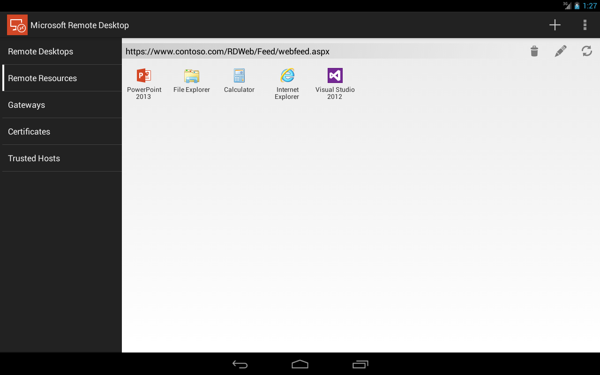 Microsoft Remote Desktop汉化版 V8.1.75.406 app安卓版截图5