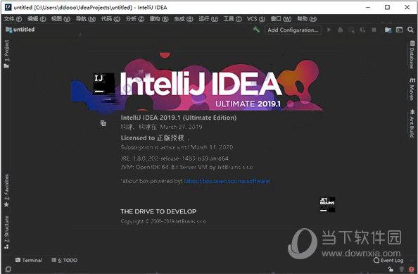 IDEA2019.3破解版