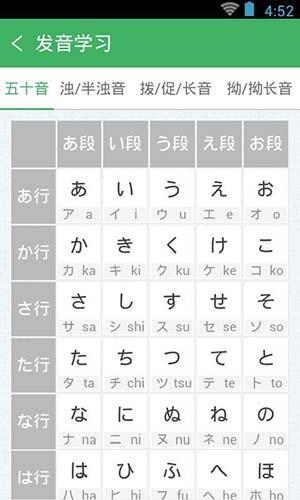 日语发音单词会话 V3.5.4 安卓版截图5