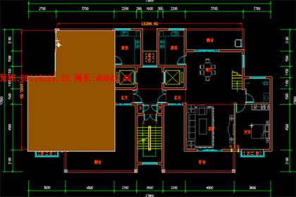CAD迷你看图面积测量结果