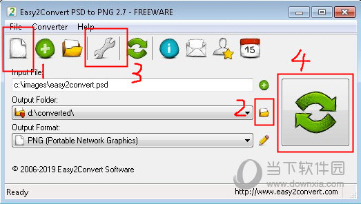 Easy2Convert PSD to PNG