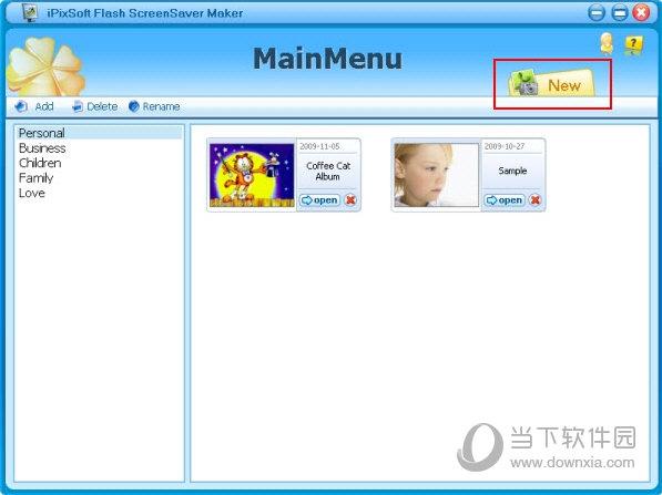 安装Flash ScreenSaver Maker并创建屏幕保护程序