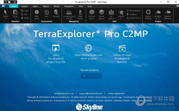 TerraExplorer Pro