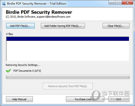 PDF Security Remover