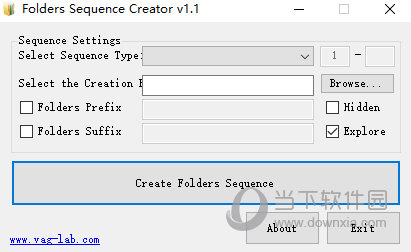 Folders Sequence Creator