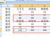 Excel批量填充公式方法 两个快捷键跨行列填充