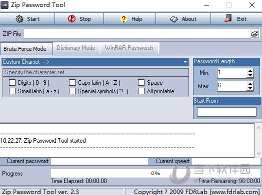ZIP Password Tool