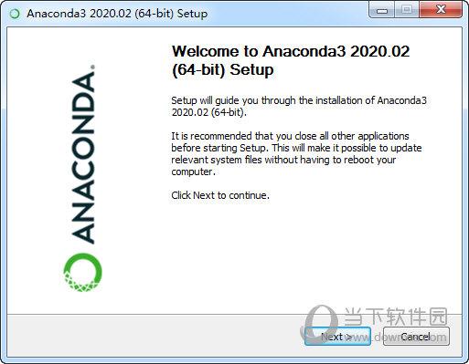Anaconda2020下载