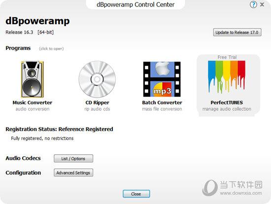 dBpowerAMP Control Center
