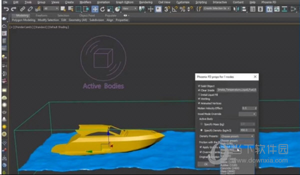 PhoenixFD for 3ds max
