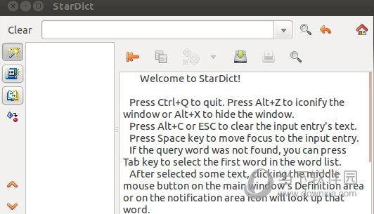StarDict Linux版