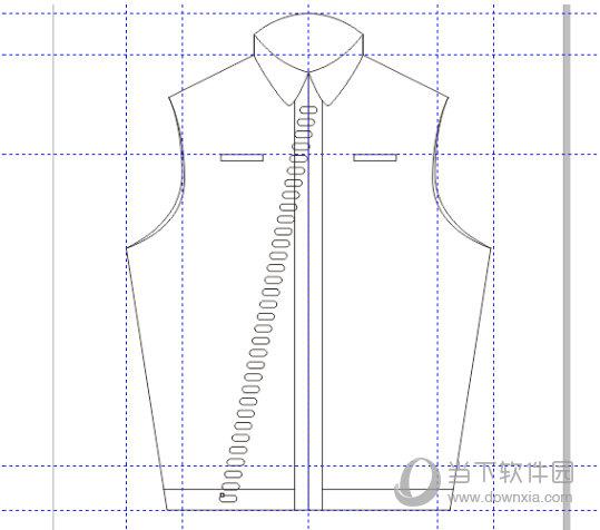 CDR进行服装设计