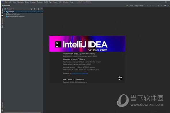 intellij idea 2020.1.2破解版