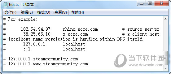 Hosts注释IP