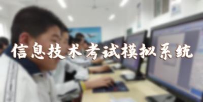 信息技术考试模拟系统
