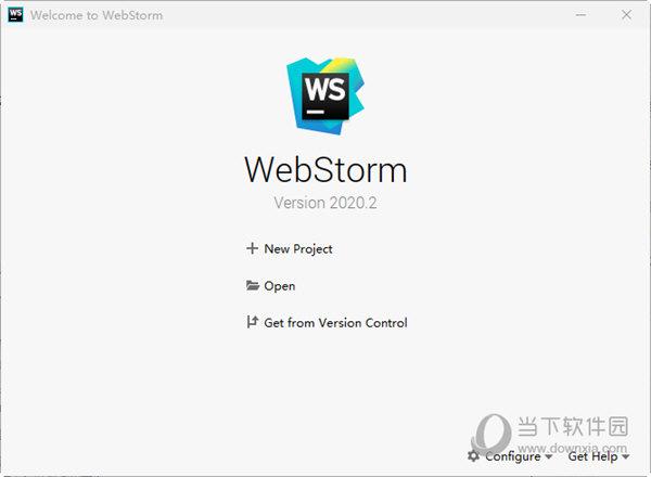 WebStorm2020