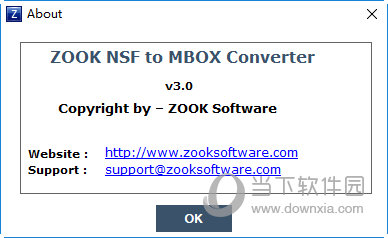 ZOOK NSF to MBOX Converter