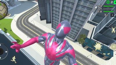 蜘蛛侠绳索英雄无限金币破解版 V1.4.8 安卓版截图5