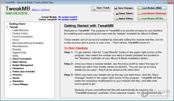 骑马与砍杀TweakMB修改器最新版下载