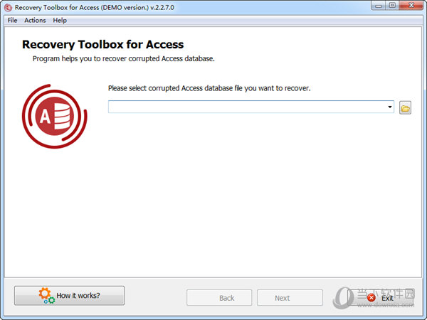 Recovery Toolbox for Access