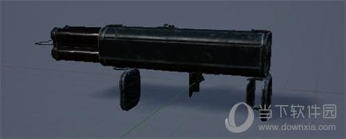和平精英手游M202四联火箭筒