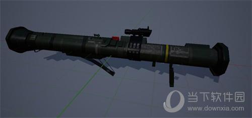 和平精英手游AT4-A激光导弹
