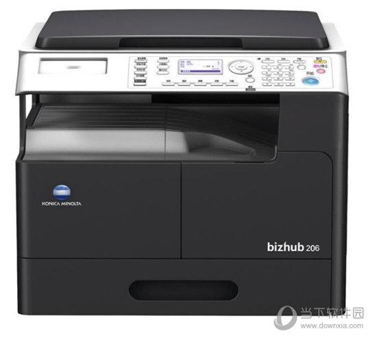 柯尼卡美能达206打印机驱动