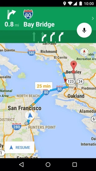 谷歌地图APP V10.38.2 安卓版截图1