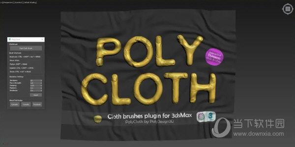 PolyCloth ClothBrush