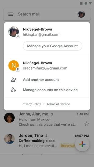 Gmail手机版 V2020.02.02.294309273 安卓版截图1