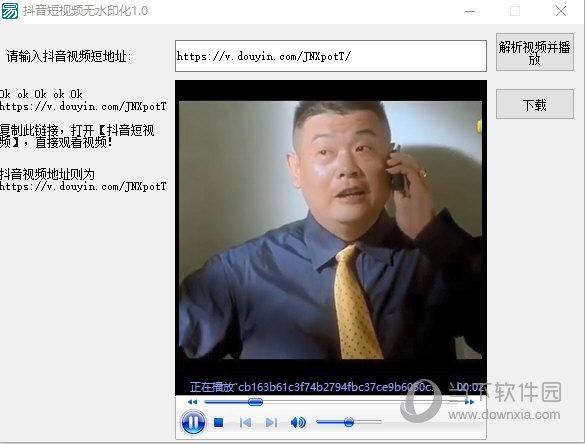 抖音短视频无水印化工具