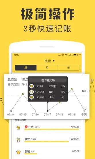 鲨鱼记账 V3.41.2 官方安卓版截图2