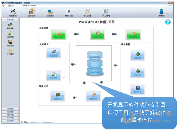 PBM设备管理租借系统
