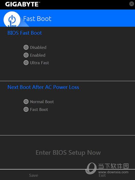 Gigabyte Fast Boot