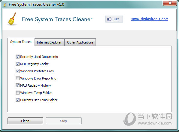 Free System Traces Cleaner